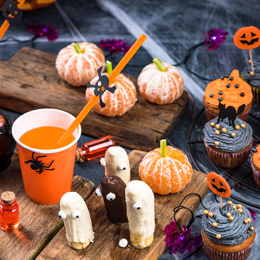 healthy sweet treats for Halloween